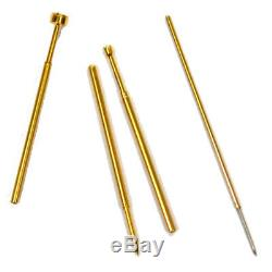 1-Pound Scrap Gold Precious Metal Recovery Gold Plated POGO Pins Connectors