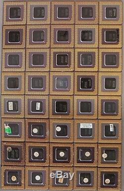 1lb 16 pieces Pentium Ceramic CPU for Scrap Gold Recovery