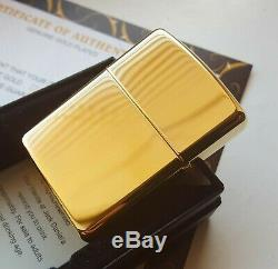 24k Gold Plated Metal Petrol Jack Daniels Barrel Zippo Lighter Flint Wick Boxed