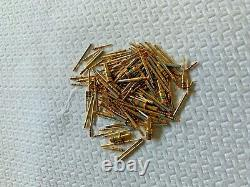 30 Oz, Gram Gold plated Pins For Scrap Gold & Precious Metal Recovery