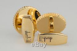 Alfred Dunhill Cufflinks Gold plated Mens designer jewelry