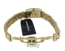 Armani Womens Diamond Watch Ar3172 Silver Dial Metal Strap, Coa, Rrp 499.00