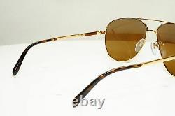 Authentic BVLGARI Mens Vintage Sunglasses Pilot 5029 Plated 391/83 30581