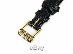 Authentic Fendi orologi 640L Gold/Box & 5 color Leather Bands