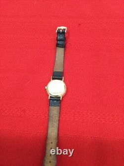 Authentic Gucci 3000L 18K Gold Plated Women's Watch 26 mm