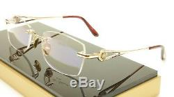 Authentic Paul Vosheront PV360 C1 Gold plated Eyeglasses Frame Italy 54-18-135
