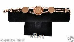 Brand New VERSACE Rose Gold Plated and Crystals Bracelet