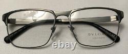 Bvlgari Genuine Mens Gold Plated Eyeglasses Frame 1104K Italy 56-17-145