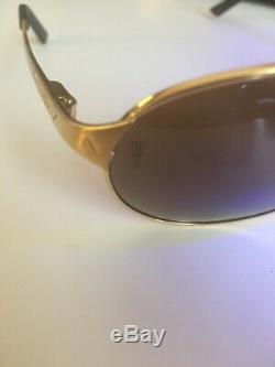 Cartier Glasses Santos Dumont Gold Plated 6122903