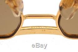 Cartier Tank aviator sunglasses, 24k gold plated louis decor frames made France