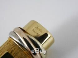 Cartier Vendome Oval Gold Plated Ballpoint Pen (NEAR MINT)