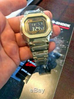 Casio G-SHOCK GMW-B5000GD-9 FULL METAL GOLD COLOR Brand New in box