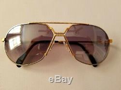 Cazal Deluxe Limited Edition Mod. 968 Col. 100 24k Gold Plated Sunglass Germany