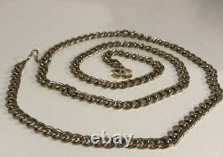 Chanel CC Coco Women Chain Belt Necklace 18k Gold Plate GP Season V 05V