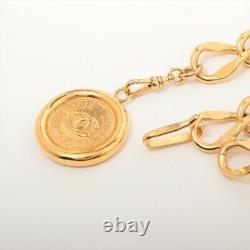 Chanel COCO Mark Chain Belt Gold Plated