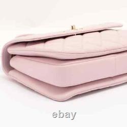 Chanel Trendy CC Lambskin 2WAY Handbag Plate Pink Gold Metal 31 Series A92236