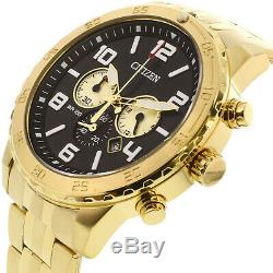 Citizen Men's AN8132-58E Gold Stainless-Steel Plated Japanese Quartz Dress Watch