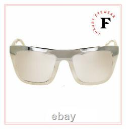 DOLCE & GABBANA 2114 18K GOLD PLATED Metal Mirrored Sunglasses DG2114K Limited
