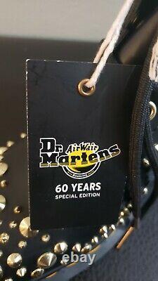 Dr Martens Women's Size 7 1460 Deluxe Special Edition Boots Men's 6 Black Combat