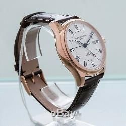 Frederique Constant Classics GMT Rose Gold Plated Automatic Date FC-350MC5B4 OS