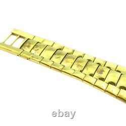 GUCCI 3300M Quartz Men's Wristwatch Watch Gold-plated Authentic 36856