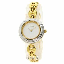 GUCCI Change bezel Watches 11/12.2 Gold Plated/Gold Plated Ladies