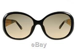 GUCCI GG 3706/F/S Oval Women Sunglasses Tortoise Havana Brown Gold Plated GG3706