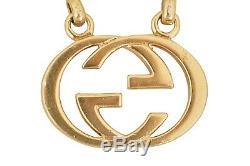 GUCCI Gold Plated Carabiner Key Ring F01027
