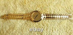 Gucci 3300M 18k Gold Plated Men's/Women's Watch with Gold Dial 33 mm (NR648)