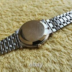Gucci 9000M 18K Gold Plated & Stainless Steel Men's/Women's Watch 32 mm (NR739)