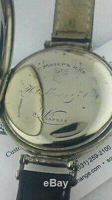 Henery Moser & Cie Wristwatch Heavy Metal Housing Gold Plated Movement