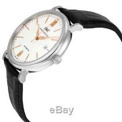 IWC Portofino Automatic Silver-plated Dial Men's Watch IW356517