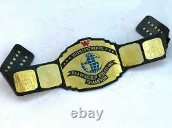 Intercontinental Championship Wrestling Replica Belt 2MM Metal Brass Plates 2021