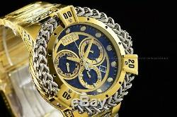 Invicta 53mm Reserve Bolt Hercules Swiss Gold Plated Steel Black Chrono Watch