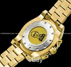 Invicta Men STAR WARS Ltd Ed C-3PO Chronograph 18K Gold Plated Bracelet Watch
