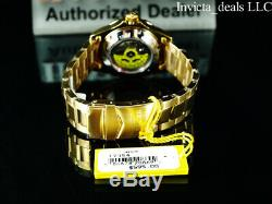 Invicta Men's Pro Diver Automatic NH35A 18K Gold Plated Champagne Dial SS Watch