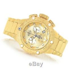 Invicta Subaqua Noma VI Steel Gold Band Metal Gold Dial Quartz Men's Watch 26648