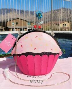 Kate Spade New York Take the Cake Posie Crossbody Bag Pink Multi NEW $249