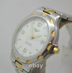 LONGINES CONQUEST AUTOMATIC Gold Plated & Steel Mens Watch