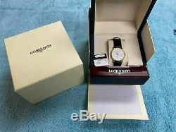 Longines La Grande Classique Gold Plated, Quartz Men's Watch, Leather L48192122