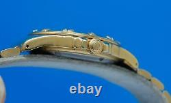 Mens Tag Heuer 4000 18K Gold plated 200M Professional watch Creme Dial