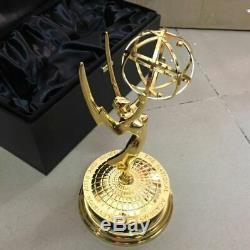 Metal Emmy Trophy Awards Gold Plated Zinc Alloy Emmy Trophy Awards 28CM Real 11