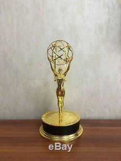 Metal Emmy Trophy Awards Gold Plated Zinc Alloy Emmy Trophy Awards 39CM Real 11