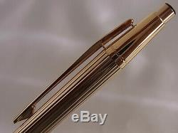 Montblanc Noblesse Gold Plated Ball Point Pen Clip Mechanism