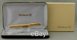 New! Fountain Pen Pelikan M 760 Jubilee Gold Plated F