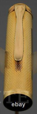 New! Fountain Pen Pelikan M760 Jubilee 1838-1988 Gold Plated Nib M Gift Box