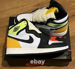 Nike Air Jordan 1 Retro High Volt GS Size 4Y/5.5W 575441-118 SHIPS NOW READ DESC