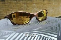 Oakley X Metal Juliet Custom plated in rustic bronze finish