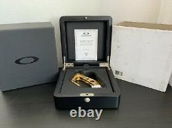 Oakley X-metal/rare/display Gold Plated /stainless Steel Carabiner Bnwt