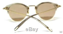 Oliver Peoples OV5184 1647 OP-505 18K Gold Plated Sunglasses New Authentic 47